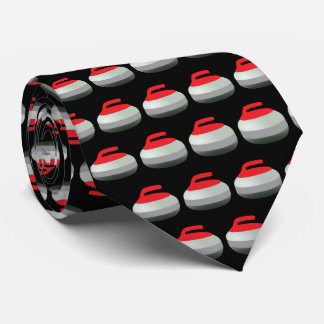 Curling Winter Sports Tie