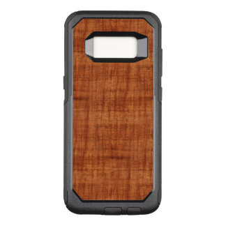 Curly Acacia Wood Grain Look OtterBox Commuter Samsung Galaxy S8 Case