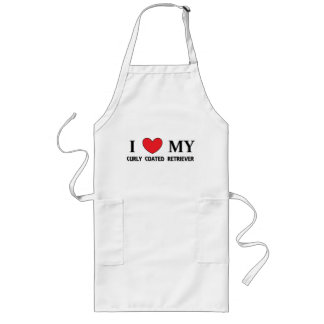 curly coat ret love long apron