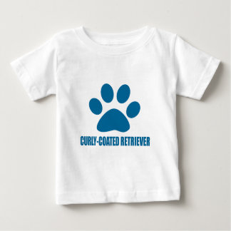 CURLY-COATED RETRIEVER DOG DESIGNS BABY T-Shirt