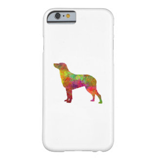 Curly Coated Retriever in watercolor Barely There iPhone 6 Case