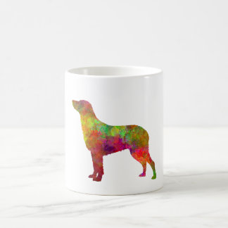 Curly Coated Retriever in watercolor Coffee Mug