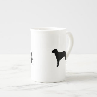 Curly Coated Retriever Silhouette Love Dogs Tea Cup