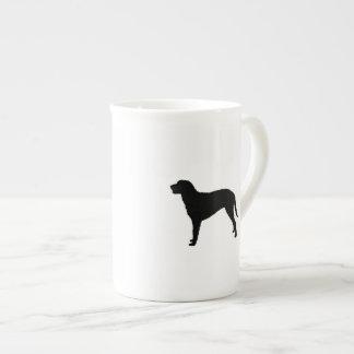 Curly Coated Retriever Silhouette Love Dogs Tea Cup
