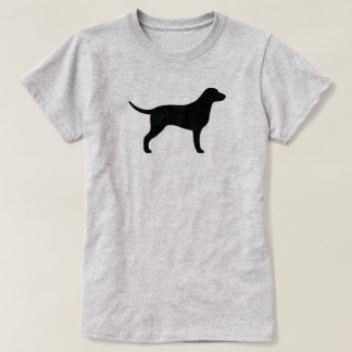 Curly Coated Retriever Silhouette T-Shirt