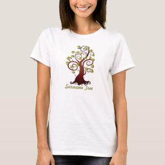 Curly  Family Tree T-Shirt