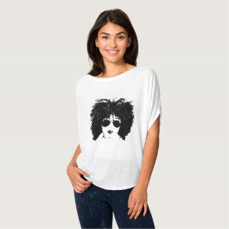 Curly Girl in Aviators T-Shirt