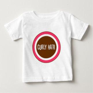 Curly Hair Baby T-Shirt