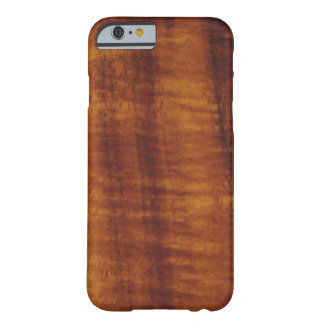 Curly Hawaiian Koa Wood Style  Barely There iPhone 6 Case