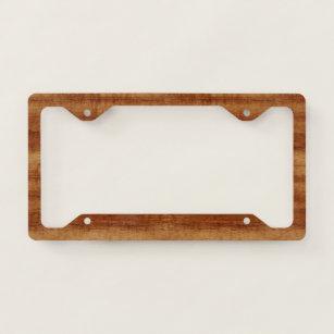 Wood Grain Plates Zazzle Ca