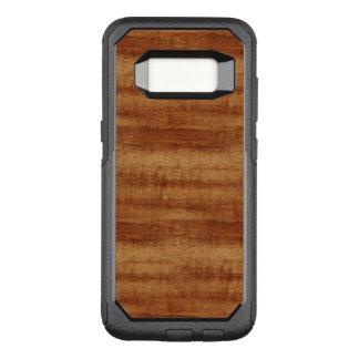 Curly Koa Acacia Wood Grain Look OtterBox Commuter Samsung Galaxy S8 Case