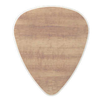 Curly Koa Acacia Wood Grain Look Polycarbonate Guitar Pick