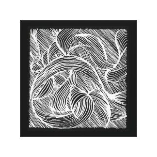 Curly LINEs Canvas Print