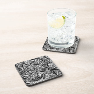 curly LINEs Coaster