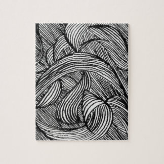 curly LINEs Jigsaw Puzzle