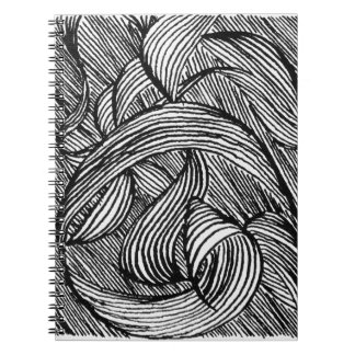 curly LINEs Notebook