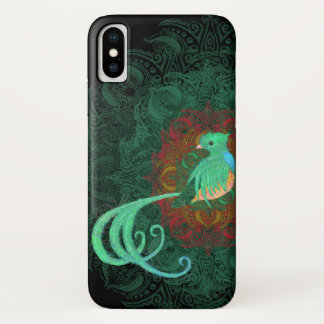 Curly Quetzal Barely There iPhone X Case