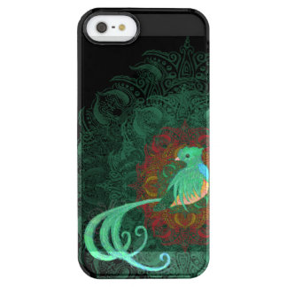 Curly Quetzal Clear iPhone SE/5/5s Case