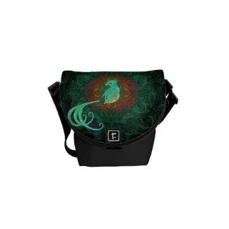 Curly Quetzal Commuter Bag