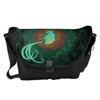 Curly Quetzal Courier Bag