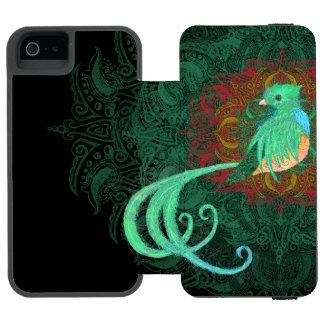 Curly Quetzal Incipio Watson™ iPhone 5 Wallet Case