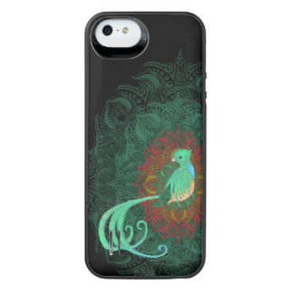 Curly Quetzal iPhone SE/5/5s Battery Case