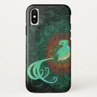 Curly Quetzal Tough iPhone X Case
