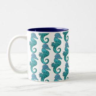 Curly Seahorse Mug