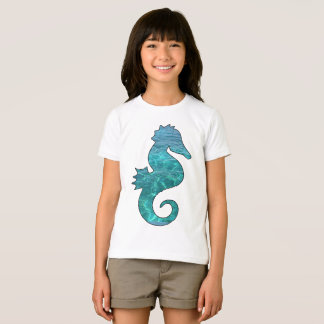 Curly Seahorse T-shirt For Kids