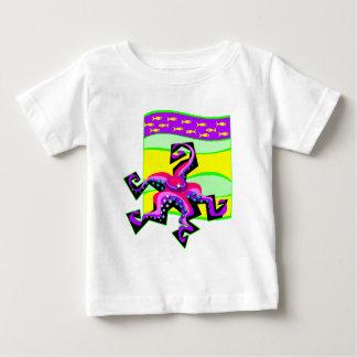 Curly Starfish Baby T-Shirt