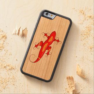 Curly-Toed Lizard Cherry iPhone 6 Bumper Case