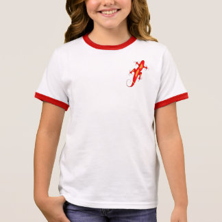Curly-Toed Lizard Ringer T-Shirt