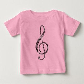 Curly Treble Baby T-Shirt