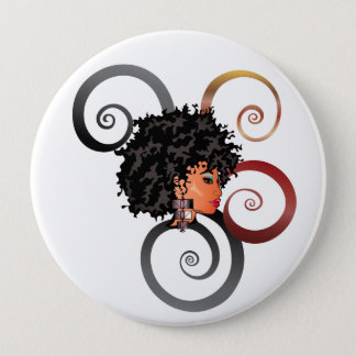 "CURLZ ""LIZA"" Button"