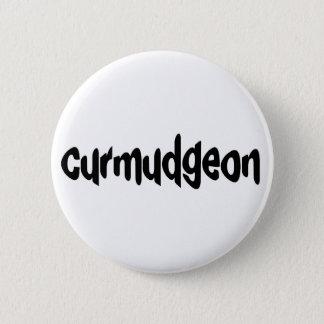Curmudgeon 2 Inch Round Button