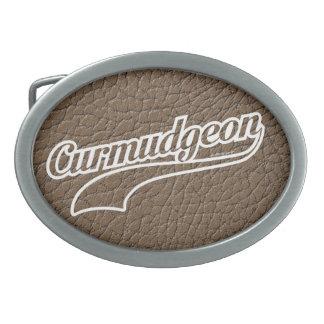 Curmudgeon Belt Buckle