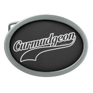 Curmudgeon Oval Belt Buckle