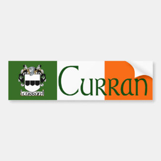 Curran Coat of Arms Bumper Sticker