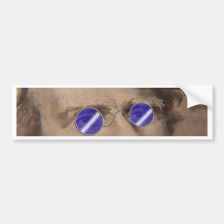 Currency in sunglasses bumper stickers