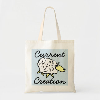 """Current Creation"" Sheep Cartoon Project Bag"