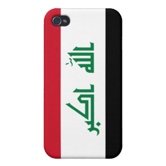 Current National Flag of Iraq iPhone 4 Cover