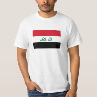 Current National Flag of Iraq T-Shirt