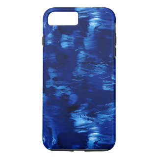 Currents In a Blue River Abstract iPhone 7 Plus Case