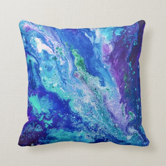 """Currents"" pillow"