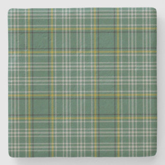 Currie Clan Tartan Plaid Stone Coaster