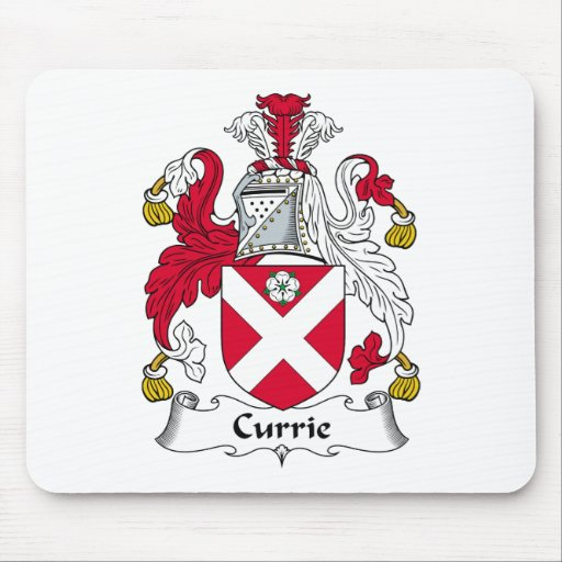 Currie Family Crest Mouse Pad