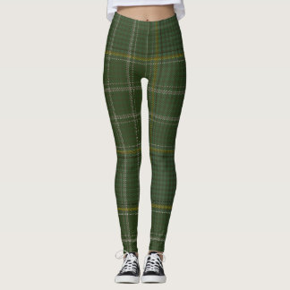 Currie Tartan Clan Plaid Leggings