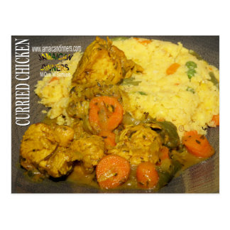 Curried Chicken Postcard