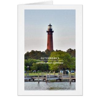 Currituck Beach Light Card