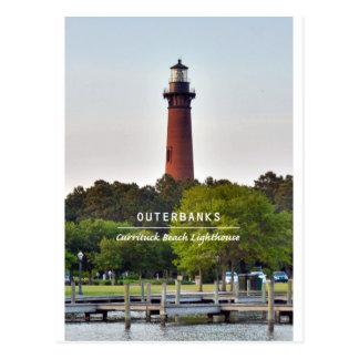 Currituck Beach Light Post Card